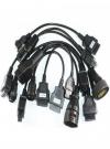 Set din 8 cabluri pentru Auto Com / Delphi ds150e